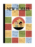 Goings On About Town - The New Yorker Cover, September 23, 2013 Regular Giclee Print by Ivan Brunetti