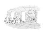 Aisle of Milk & Honey - New Yorker Cartoon Premium Giclee Print by Edward Steed