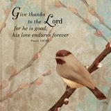 Give Thanks Plakater af Elizabeth Medley