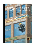 Exercity - The New Yorker Cover, September 9, 2013 Regular Giclee Print by Bruce McCall