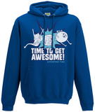Hoodie: Adventure Time- Time To Get Awesome Bluza z kapturem