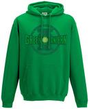 Hoodie: Green Lantern- Title Logo Hettegenser