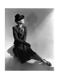 Vogue - January 1938 Regular Photographic Print by Horst P. Horst
