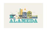 City Living Alameda Natural Prints
