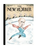Jury of His Peers - The New Yorker Cover, February 3, 2014 Regular Giclee Print by Barry Blitt