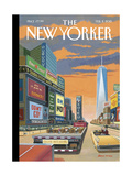 The New Yorker Cover - February 2, 2015 Giclee Print