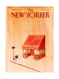 The New Yorker Cover - April 5, 1982 Regular Giclee Print by Abel Quezada