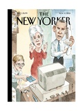 Reboot - The New Yorker Cover, November 11, 2013 Regular Giclee Print by Barry Blitt