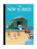 Operation Neptune - The New Yorker Cover, July 22, 2013 Regular Giclee Print by Bruce McCall