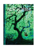 The Eternal Summer - The New Yorker Cover, August 26, 2013 Regular Giclee Print by Eric Drooker