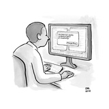 """The internet wants to destroy your productivity.""  - New Yorker Cartoon Premium Giclee Print by Paul Noth"