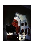 Opera Scene by Christian Berard of the Theatre De La Mode Photographic Print