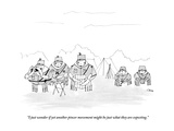 """""""I just wonder if yet another pincer movement might be just what they are """" - New Yorker Cartoon Giclee Print by Edward Steed"""