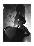 Eve Curie (Madame Marie Curie's Daughter) in Profile Photographic Print