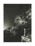 Vogue - December 1937 Regular Photographic Print by Horst P. Horst