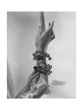 Mrs. William S. Paley's (Aka Babe Paley; Barbara Cushing; Mrs. Stanley Mortimer) Arm Photographic Print