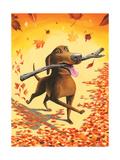 The New Yorker - November 17, 2014 Regular Giclee Print
