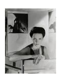 Portrait of Author Eve Curie Photographic Print