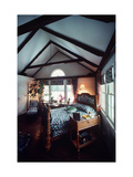 A Guest Room in a Main Country House Photographic Print