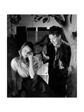 Actress Ingrid Bergman and Actor Burgess Meredith Appearing in Liliom Photographic Print