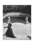 Vogue - October 1947 Regular Photographic Print by Horst P. Horst