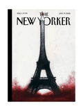 The New Yorker Cover - January 19, 2015 Regular Giclee Print