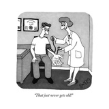"""That just never gets old!"" - New Yorker Cartoon Regular Giclee Print by J.C. Duffy"