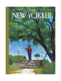 The New Yorker Cover - August 24, 2015 Regular Giclee Print
