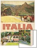 Italia Wood Print