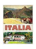 Italia Giclee Print