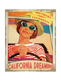 California Dreaming Giclee Print