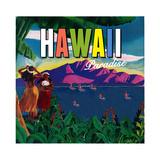 Hawaii Paradise Giclee Print