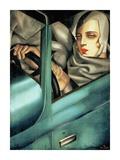 Autoportrait (detail) Poster von Tamara De Lempicka
