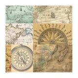 Cahiers de voyage III Prints by  Joannoo