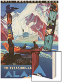 Treasure- Laden Alaska Wood Print