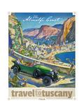 Travel to Tuscany Giclée-Druck