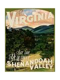 Shenandoah Valley Giclee Print