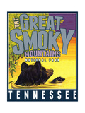 Smoky Mountains Giclee Print