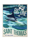 Catch the Big One Giclee Print