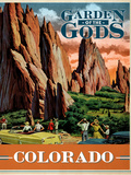 Garden of the Gods Giclee Print