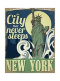 New York Giclée-tryk