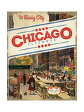 The Windy City Giclee Print