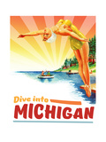 Michigan Giclee Print