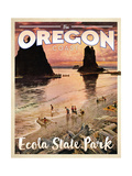 Ecola State Park Giclee Print