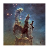 2014 Hubble WFC3/UVIS High Definition Image of M16 - Pillars of Creation Prints