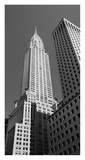 Chrysler Building and Skyscrapers (detail) Posters by So Hing-Keung