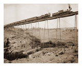 Dale Creek Bridge, Wyoming, Union Pacific Railway, 1885 Art by William Henry Jackson
