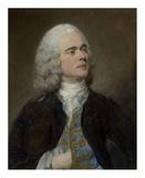 Charles-Francois Pinceloup de la Grange Art by Jean-Baptiste Perronneau