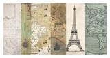 Cahiers de voyage I Poster by  Joannoo
