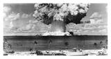 Bikini Atoll - Operation Crossroads Baker Detonation - July 25, 1946: DBCR-T1-318-Exp 6 AF434-4 Posters by  U.S. Navy